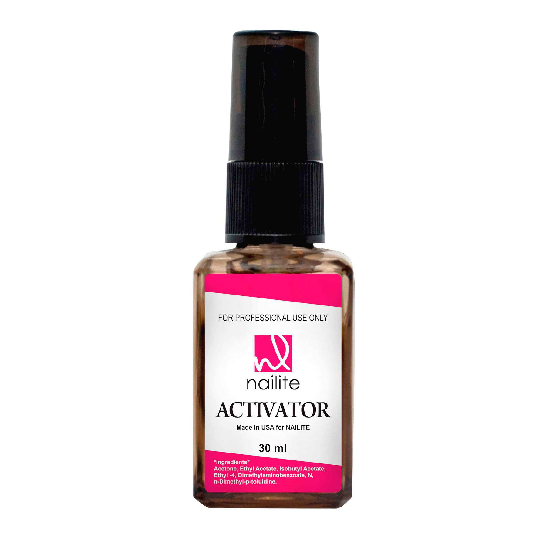 Liquido Activador Spray 30ml Nailite