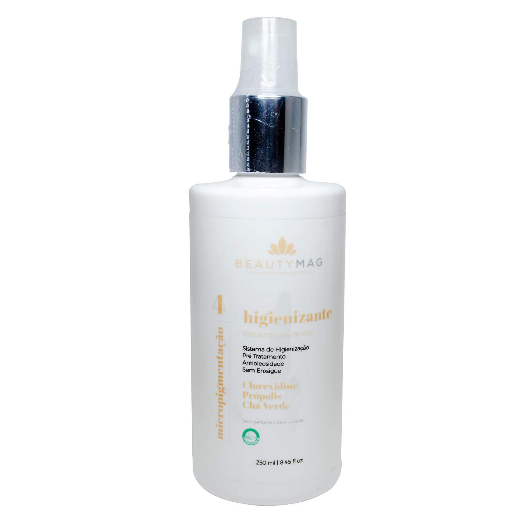 Loção Higienizante BeautyMag para Micropigmentação 250ml