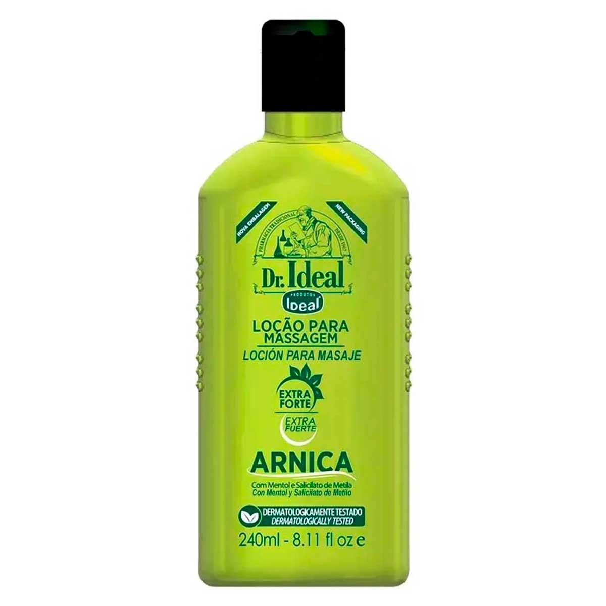 Loção para Massagem Arnica Extra Forte Dr Ideal 240ml