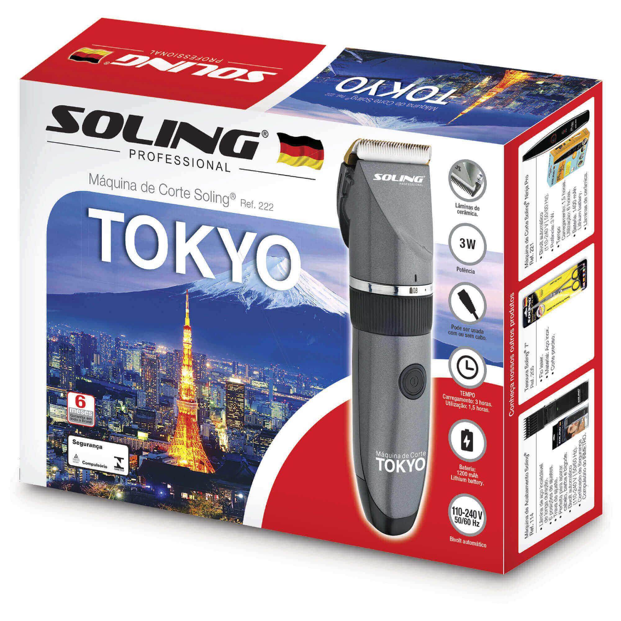 Máquina de Corte Soling Tokyo