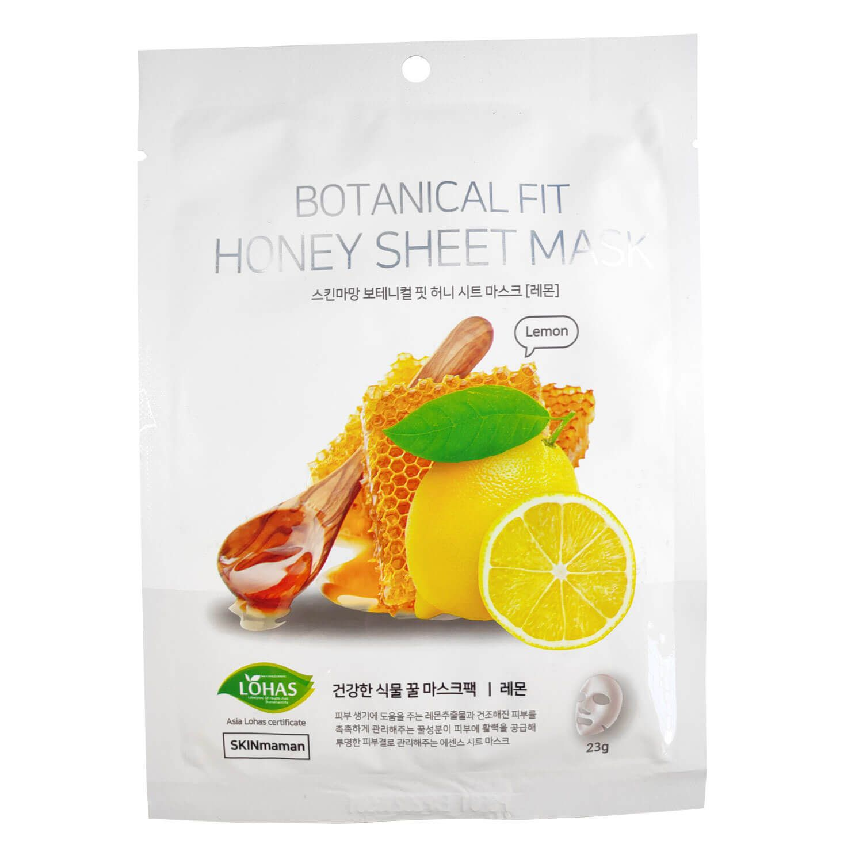 Máscara Facial Relaxante Skinmaman Botanical Fit Honey Sheet Mask