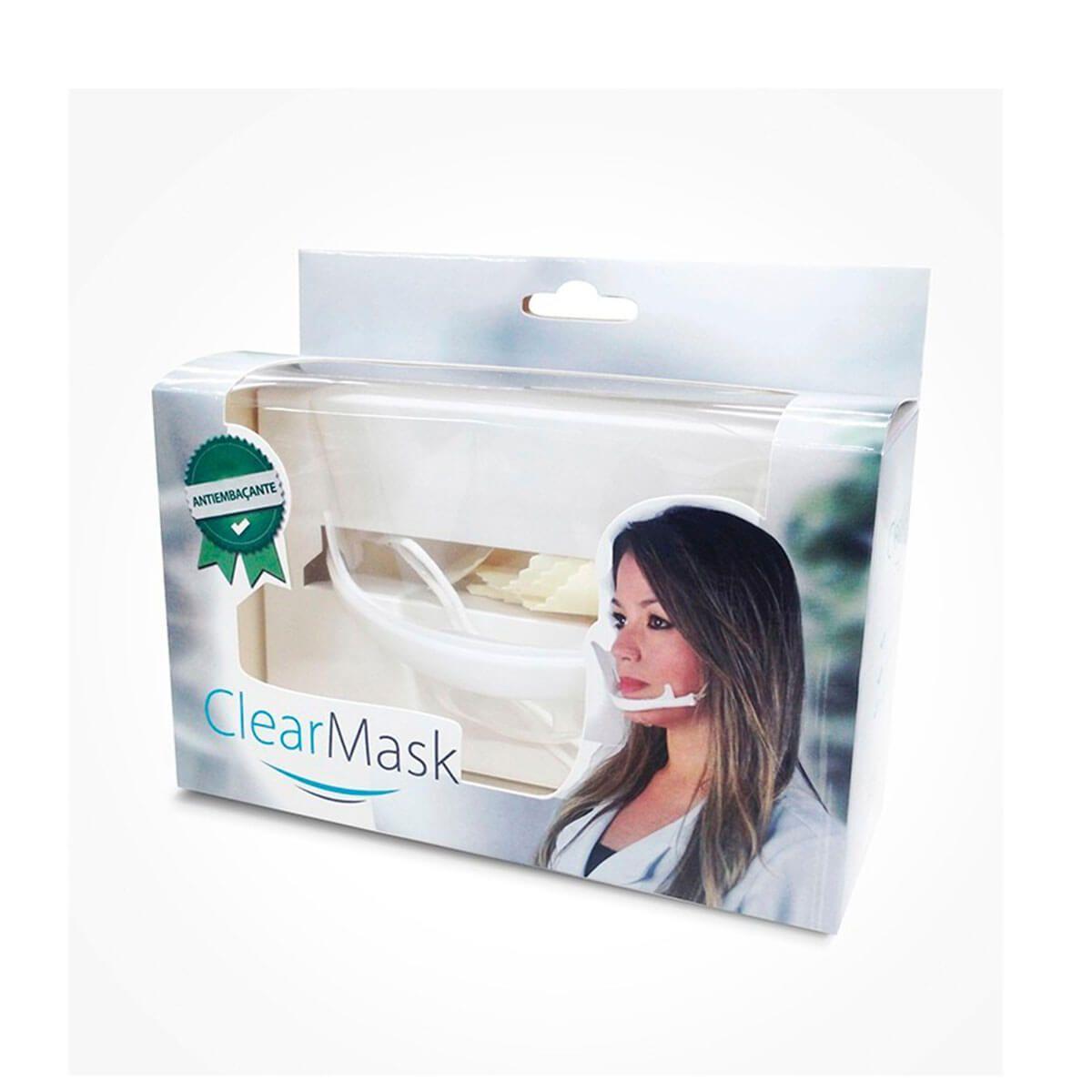 Máscara Protetora Clearmask
