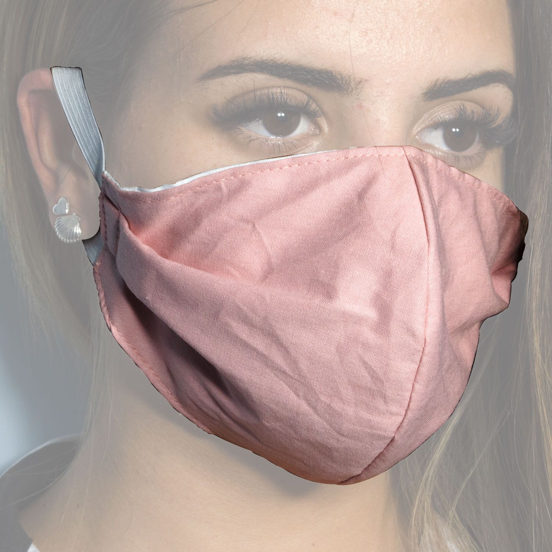 Máscara Ninja Tecido Dupla Face Lavável