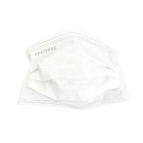 Máscara Protdesc Dupla Branca com Elástico 100un