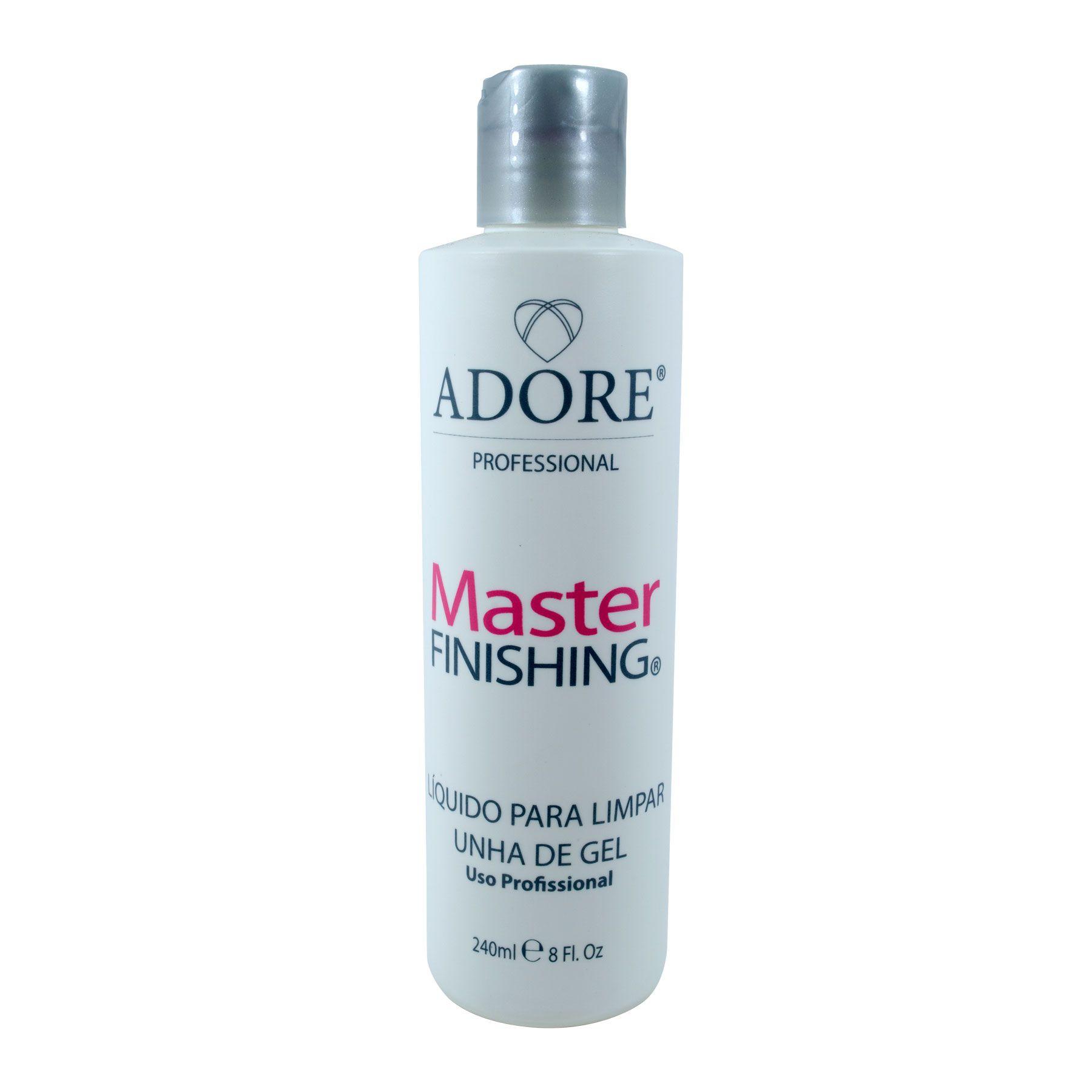Master Finishing Adore Líquido para Limpar Unhas de Gel