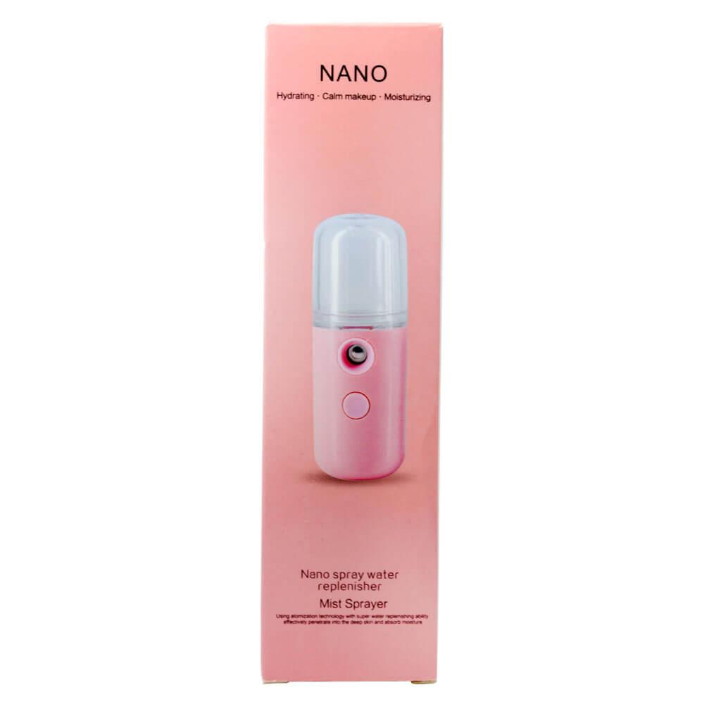 Nano Mister Spray Vaporizador Facial Recarregável