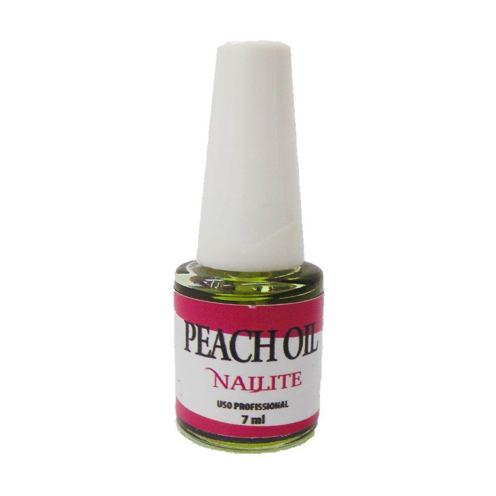 Óleo de Cutícula Nailite Pêssego 7ml
