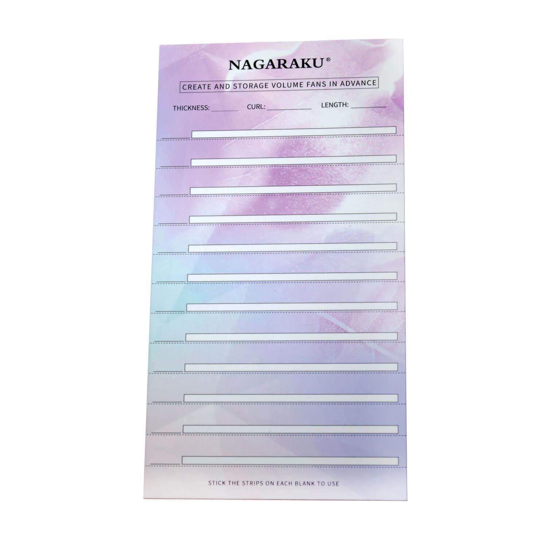 Paleta Stick Card Para Extensão de Cílios