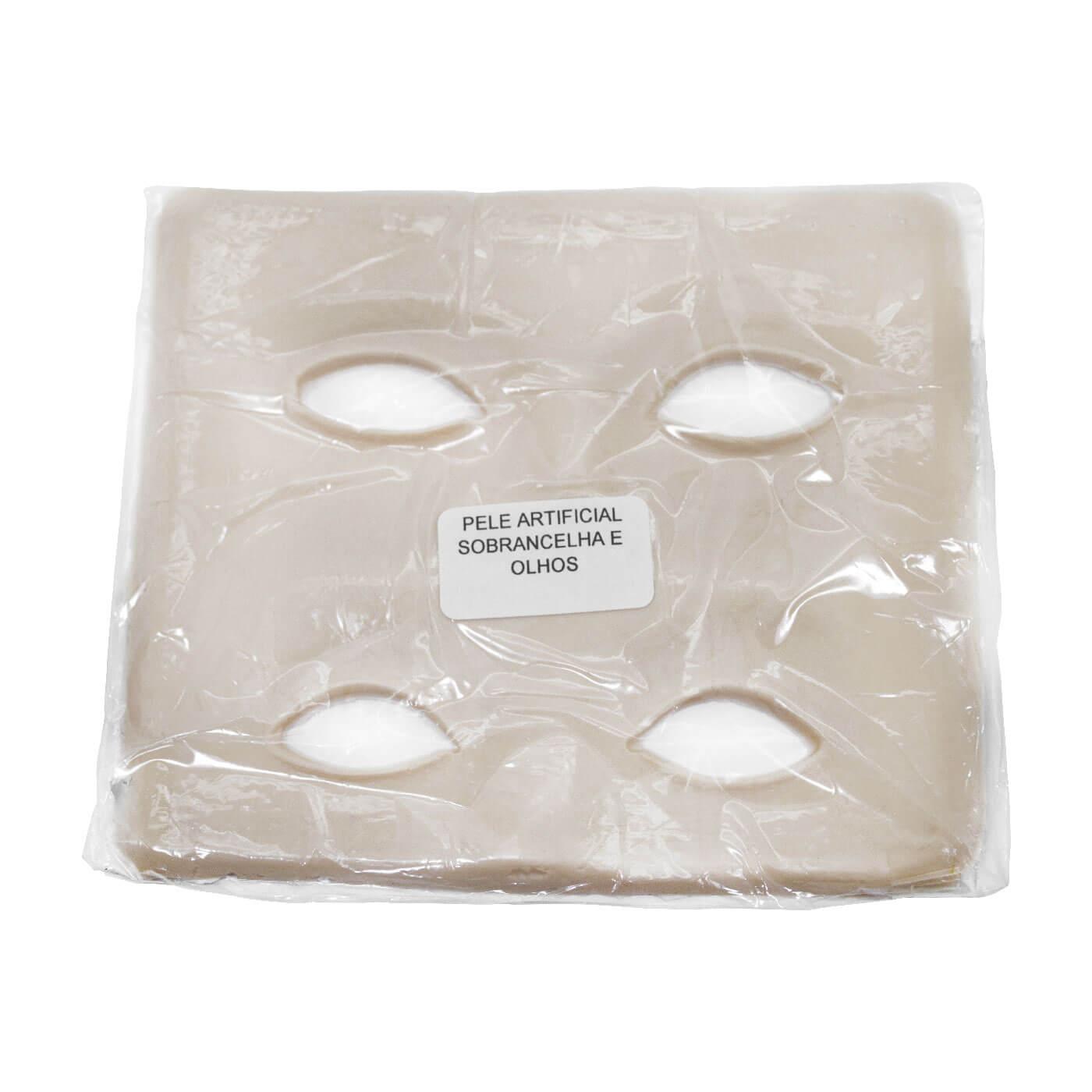 Pele Artificial para Treino Sobrancelhas e Olhos