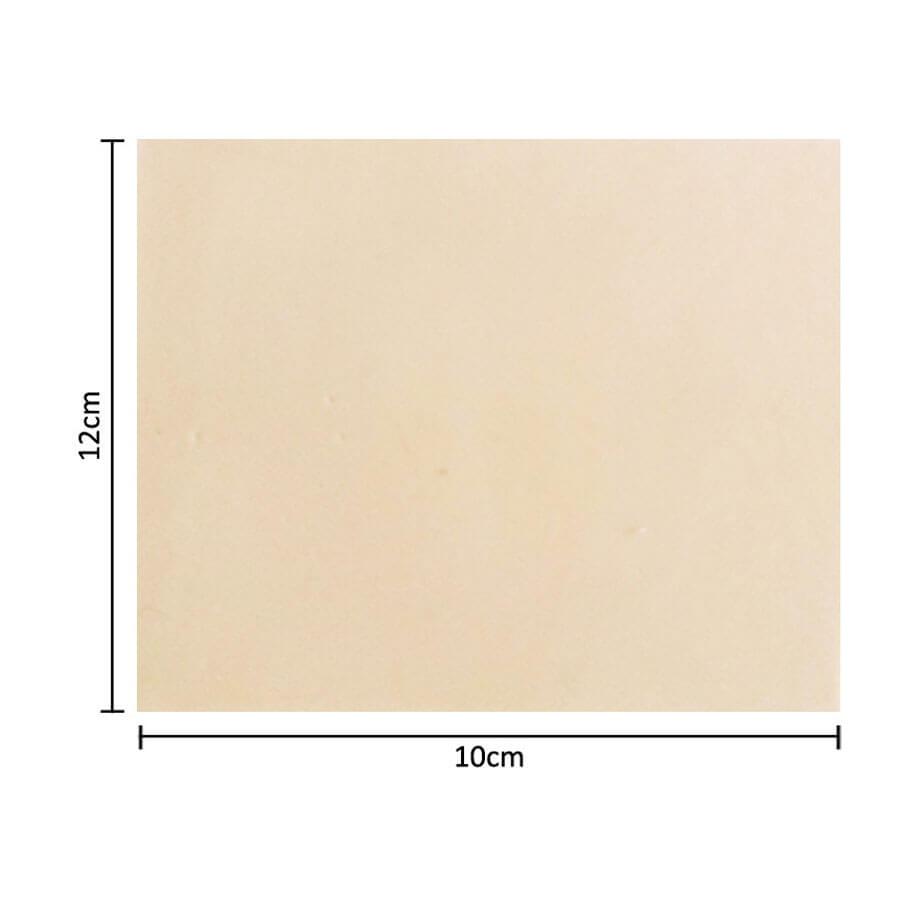 Pele Sintética Flox para Treino Micropigmentação 12x10cm 4mm