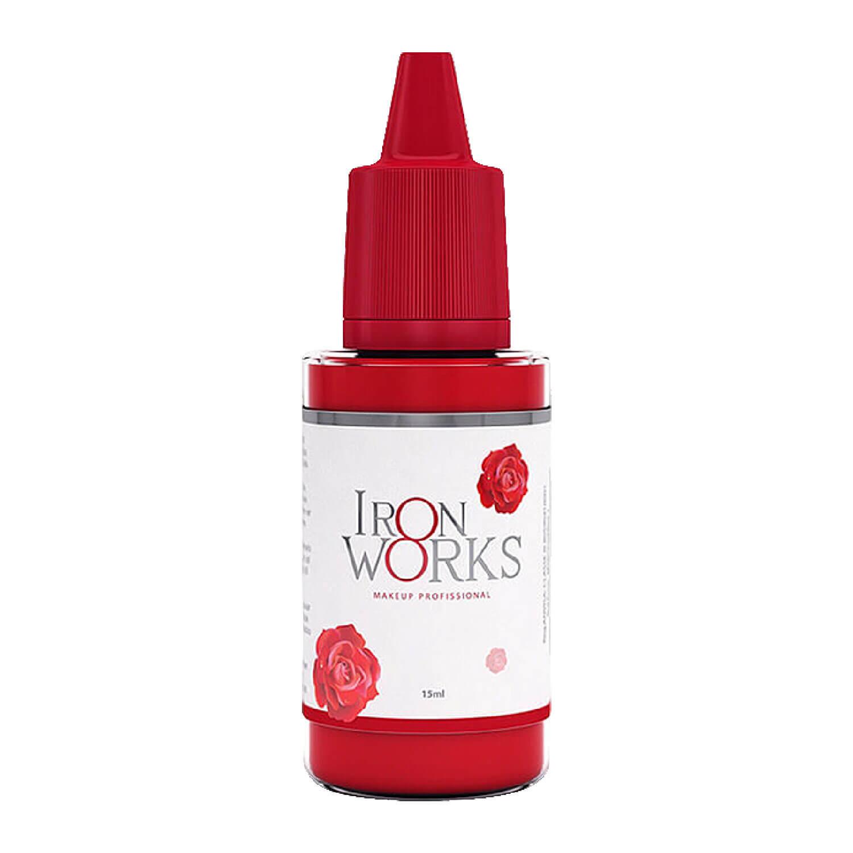 Pigmento Iron Works 15ml Vermelho