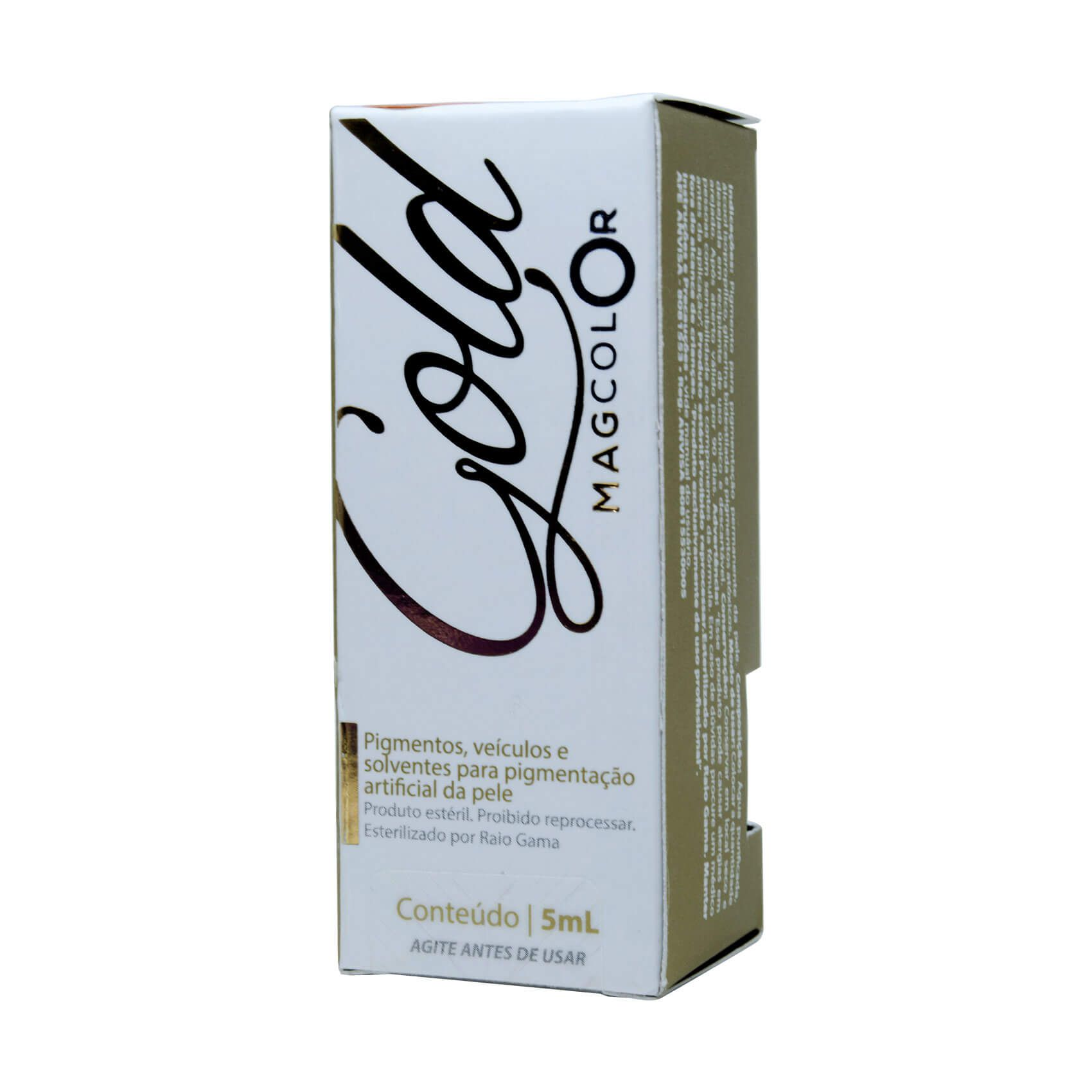 Pigmento Mag Color Gold 5ml Verde Oliva
