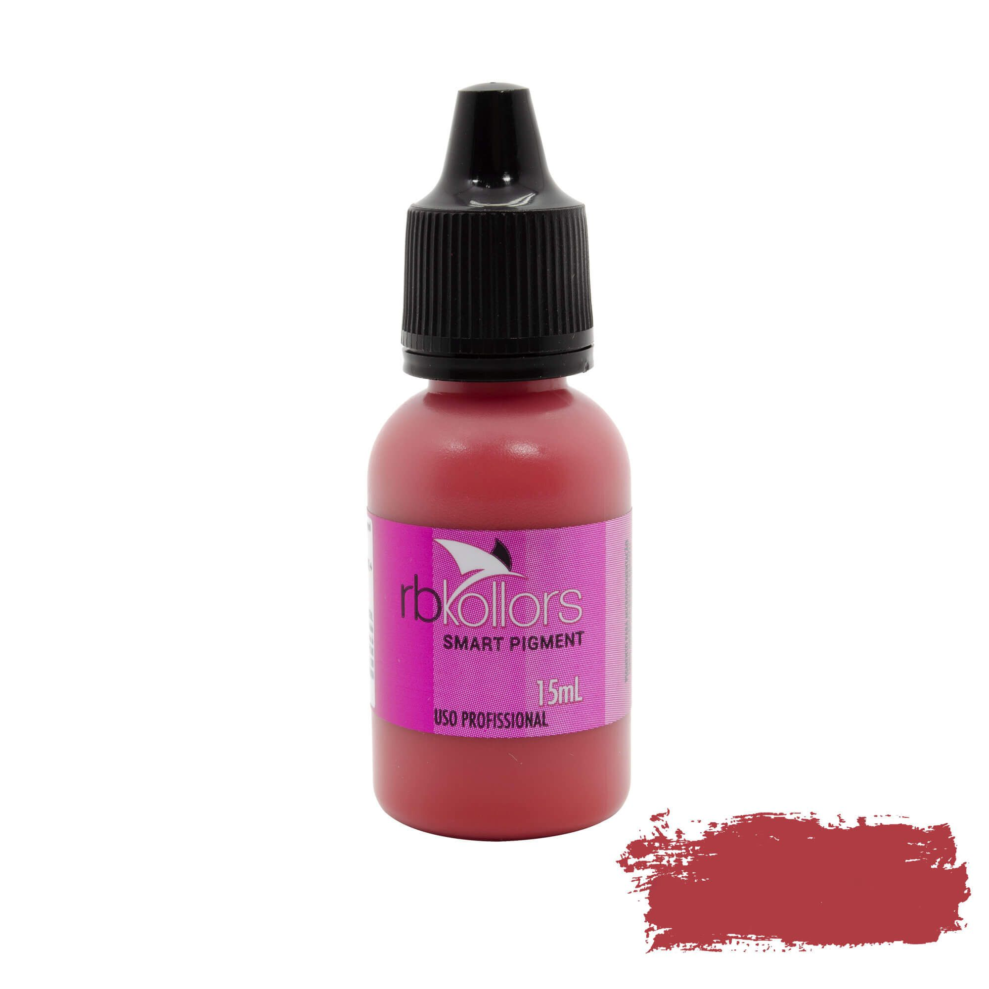 Pigmento Rb Kollors 15ml Red Velvet