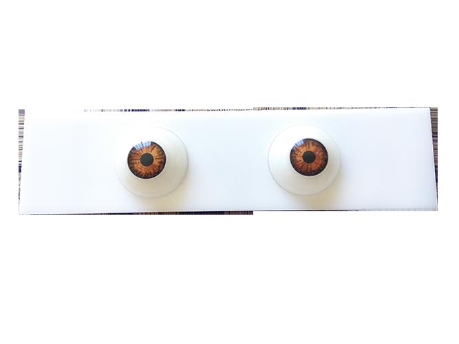 Placa com Par de Olhos Artificiais Flox