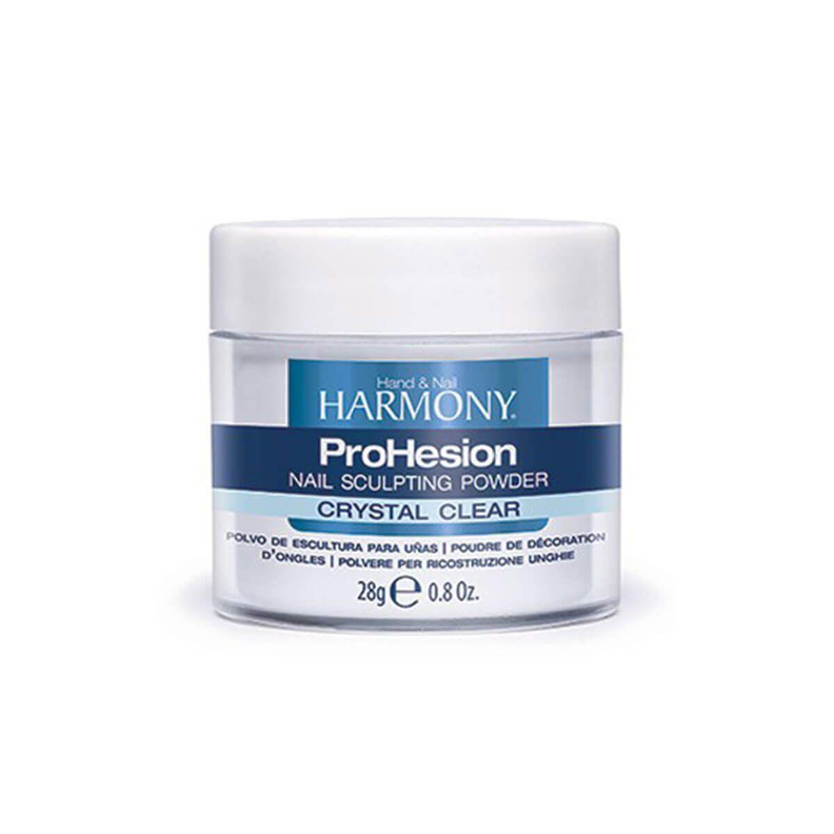 Pó Acrílico Harmony ProHesion Cristal Clear 28g