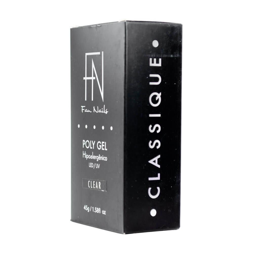 Polygel Fan Nails Classique Hipoalergênico 45g