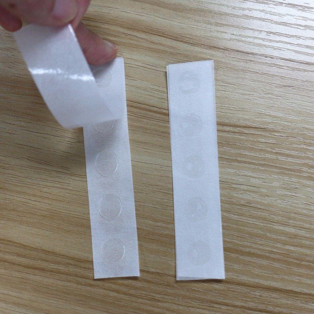 Ponto de Cola p/ Montagem de Tufos - Sticky Dots - Kit 10 Un.