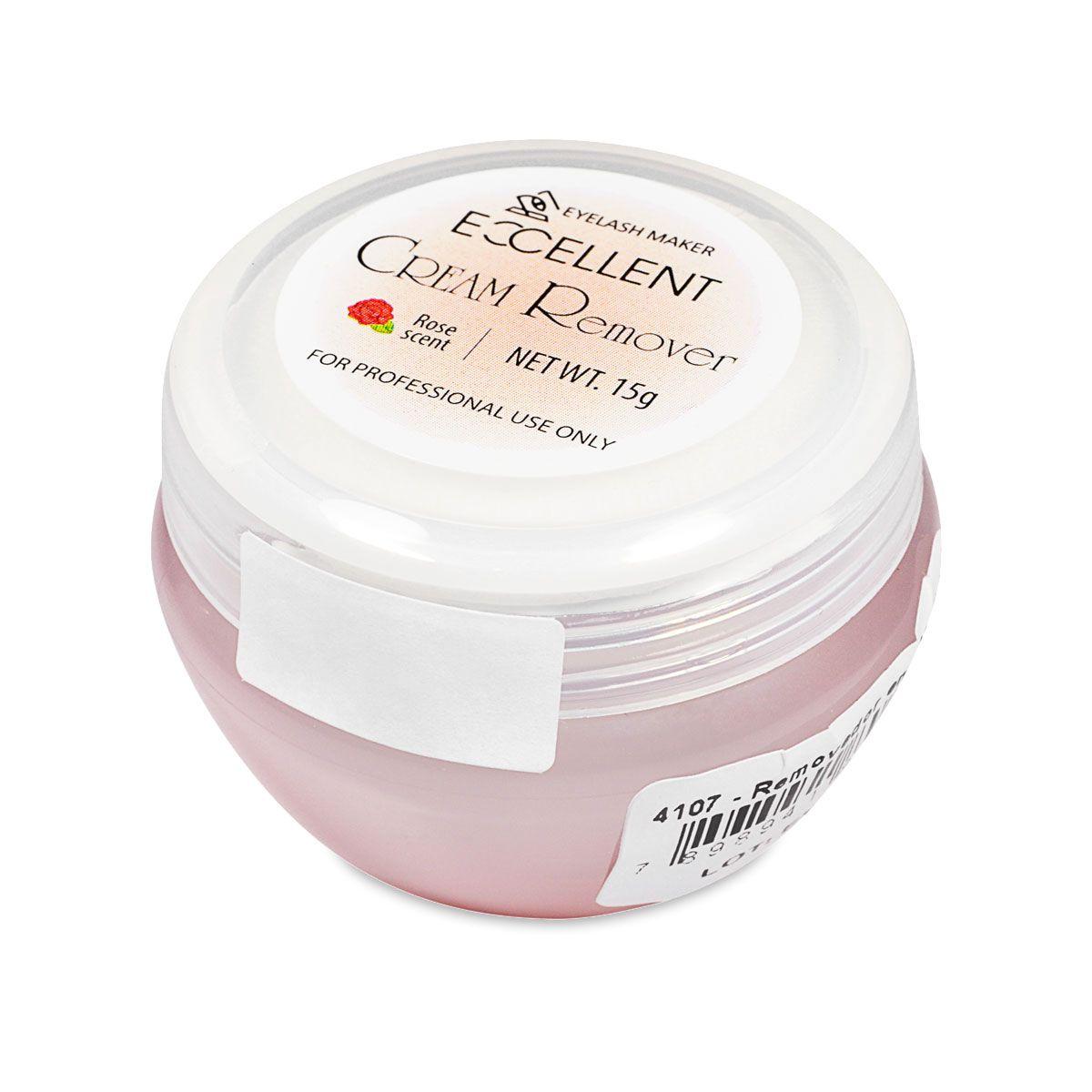 Removedor de Cola Excellent Cream Remover 15g Rose