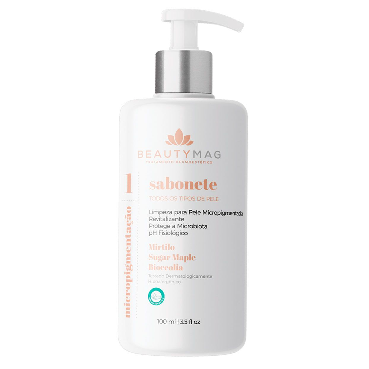 Sabonete Beauty Mag para Micropigmentação 100ml