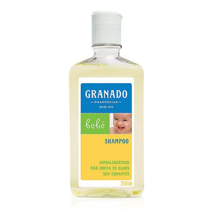 Shampoo Granado Tradicional Bebê 250ml