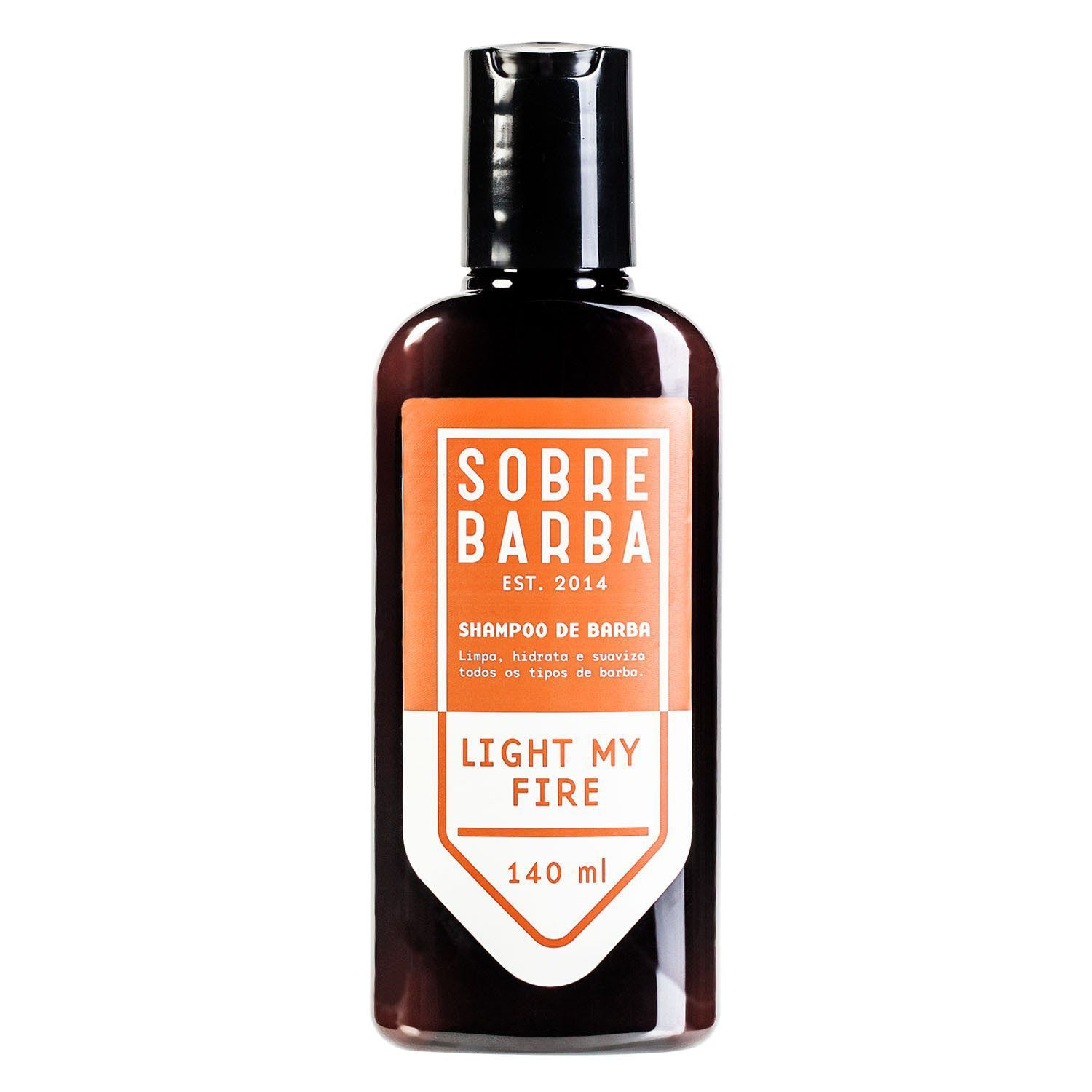 Shampoo para Barba Sobrebarba Light My Fire 140ml
