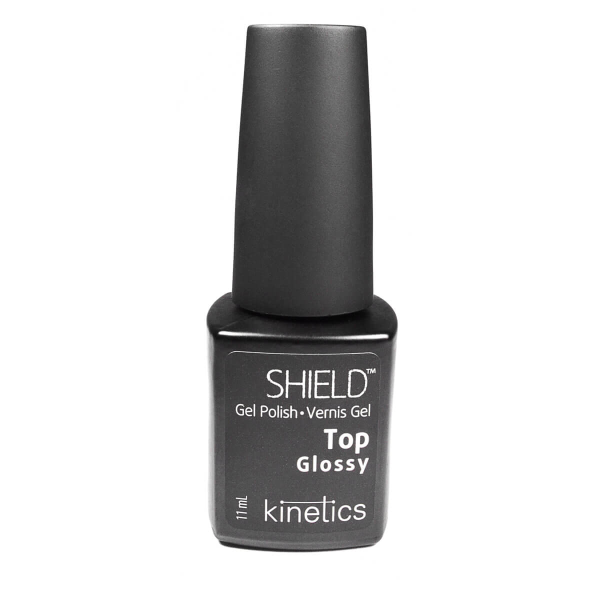 Shield Gel Polish Glossy Top Kinetics Gel para Unhas 11ml