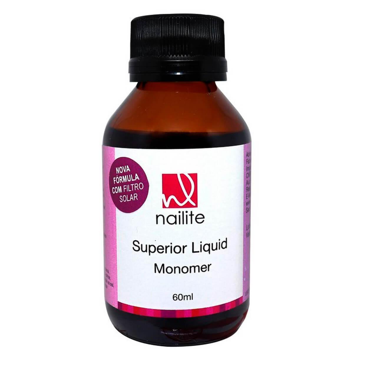 Superior Liquid Monomer Nailite 60ml