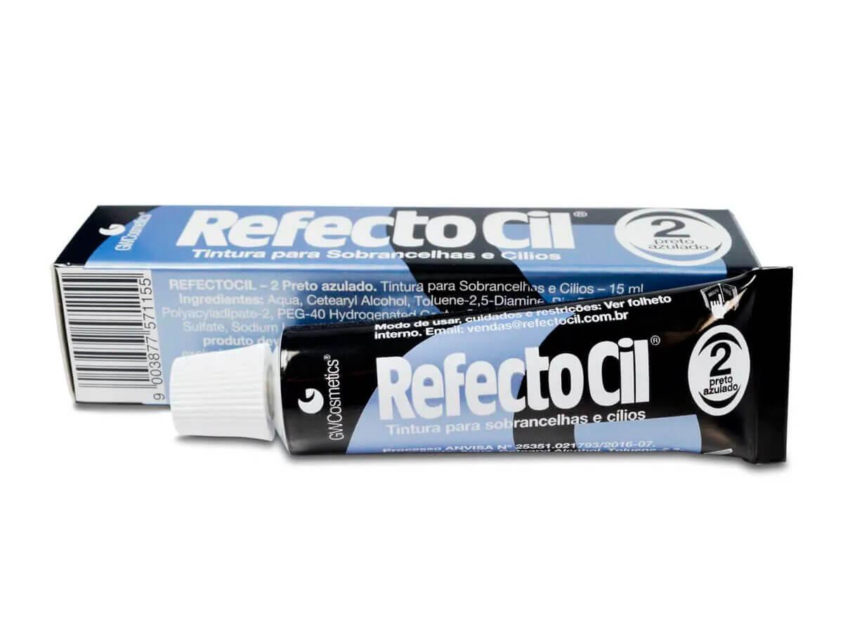 Tintura Refectocil para Cílios e Sobrancelhas Preto Azulado 2.0