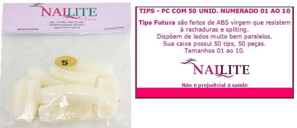 Tips para Unhas Nailite n° 09 50un