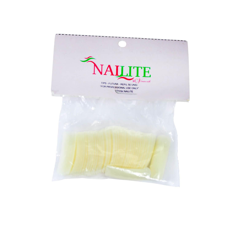 Tips para Unhas Nailite n° 02 50un