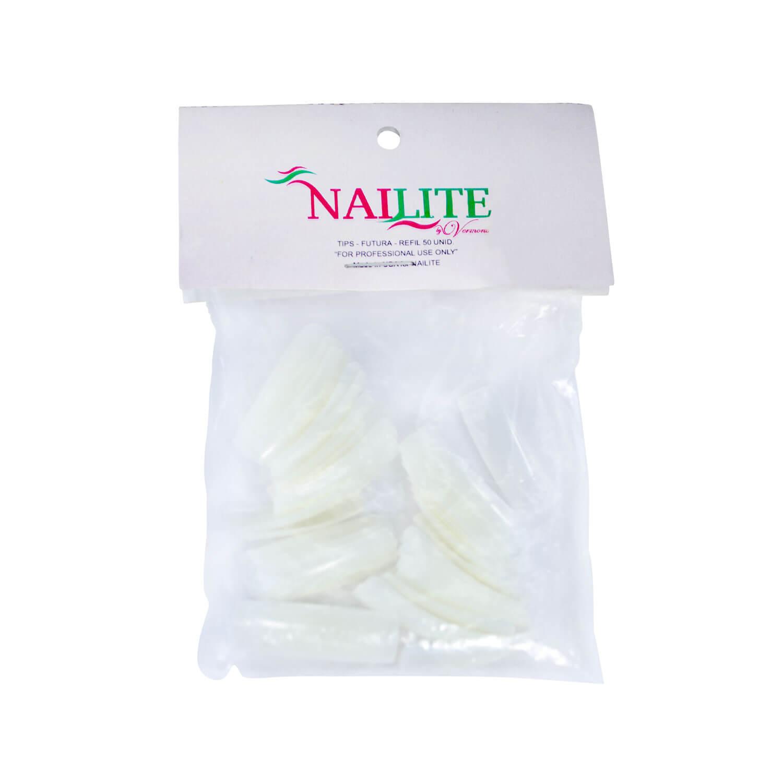 Tips para Unhas Nailite n° 08 50un