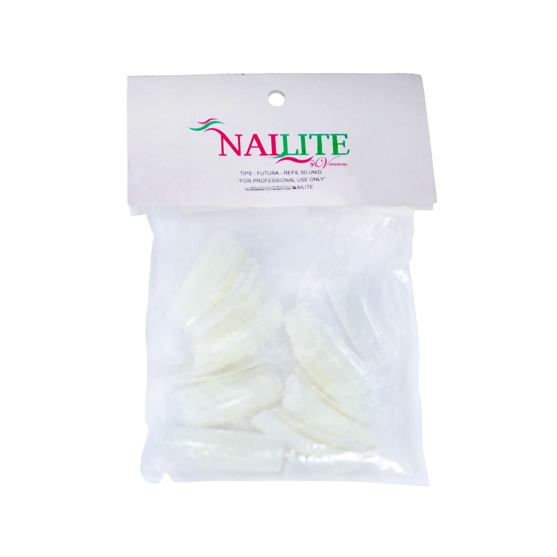 Tips para Unhas Nailite n° 10 50un