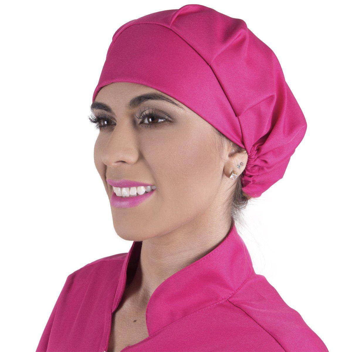 Touca Gabardine FunMask Pink