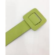 Cinto Quadrado Verde