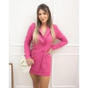 Conjunto Blazer com Saia Pink