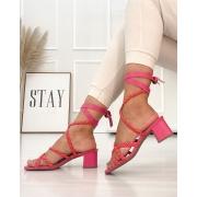 Sandália Capri Pink
