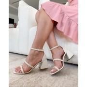 Sandália Diamond Off-White