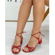 Sandália Jolie Vermelha