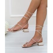 Sandália Minimal Off-White