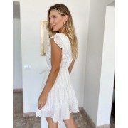 Vestido Curto Shine Branco