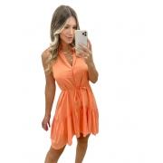 Vestido Jasmine Laranja