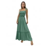 Vestido longo Toscana Verde