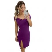 Vestido Midi Purple