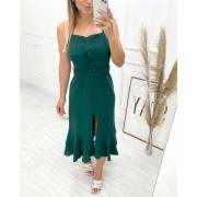Vestido Midi Provence Verde