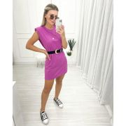 Vestido Muscle Purple