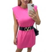 Vestido Muscle Rosa