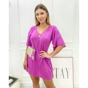 Vestido Olivia Fúcsia