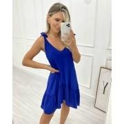 Vestido Sicília Azul