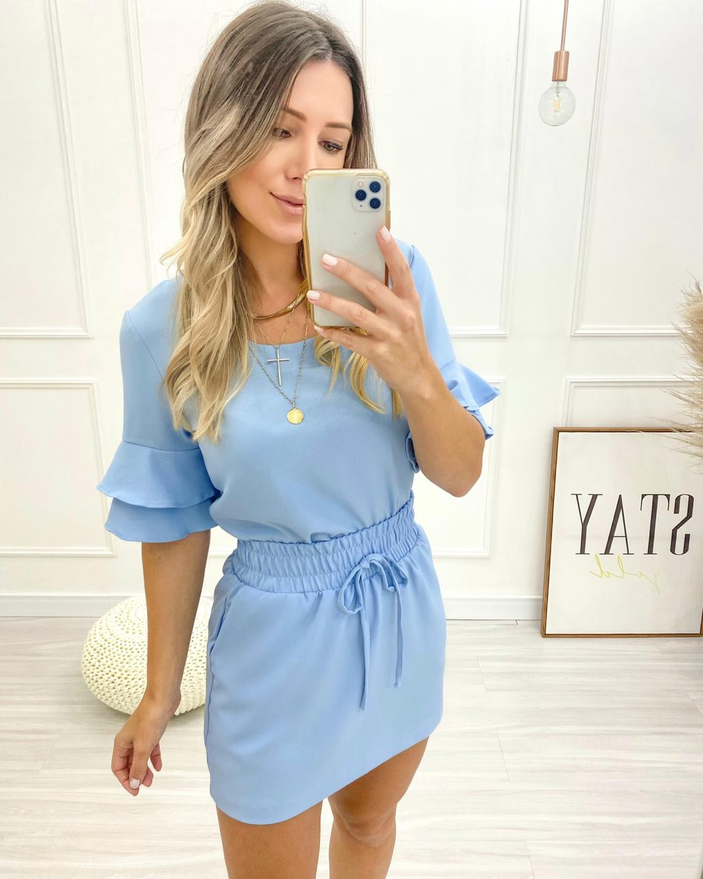 Blusa Candy Azul