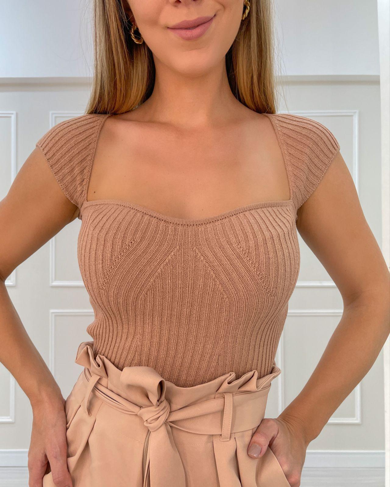 Blusa Tricô Amabile Nude